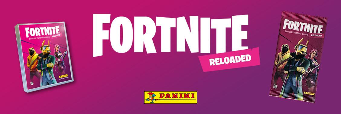 Fortnite Reloaded Sammelkarten